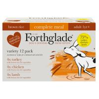 Forthglade Complete Adult Multipack with Brown Rice Dog Food