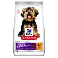 Hills Science Plan Adult Sensitive Stomach & Skin Small & Mini Chicken Dry Adult Dog Food