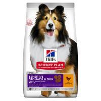 Hills Science Plan Sensitive Stomach & Skin Chicken Dry Adult Dog Food