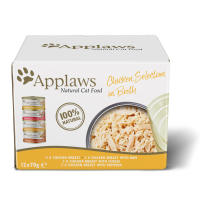 Applaws Natural Chicken Selection in Broth Wet Adult Cat Food