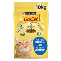 Go-Cat Tuna Herring & Vegetable Dry Adult Cat Food