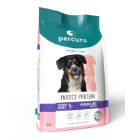 Percuro Insect Protein Medium & Large Breed Dry Adult Dog Food