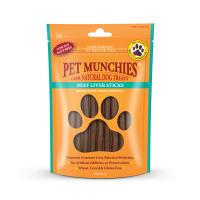Pet Munchies Natural Beef Liver Stick Dog Treats