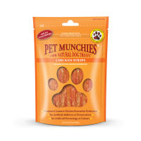 Pet Munchies Natural Chicken Strips Dog Treats