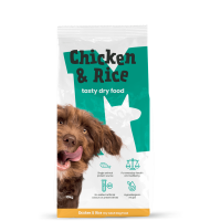 Monster Pet Foods Chicken & Rice Dry Adult Dog Food 10kg