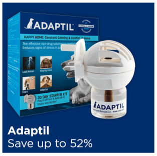 Save up to 52% on Adaptil dog calming