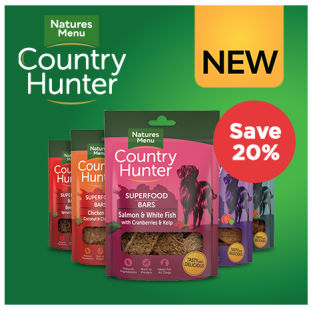 Save 20% on Country Hunter Superfood Bars