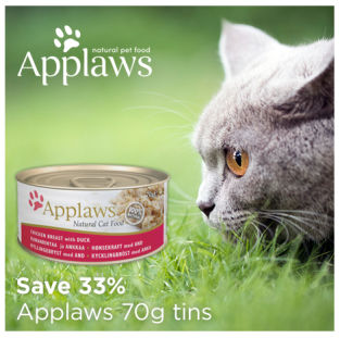 Save 33% on Applaws wet cat food