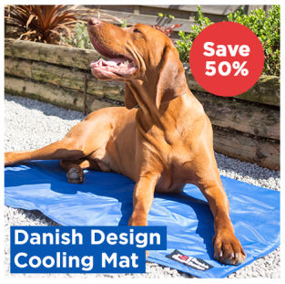 Danish Design Cooling Mattress for Dogs