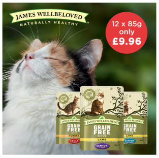 James Wellbeloved Cat Pouches