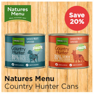 Save up to 20% on Natures Menu