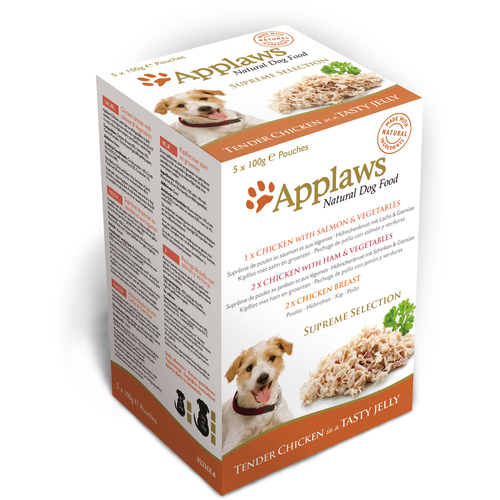 Applaws Supreme Selection Multipack Pouches Adult Dog Food