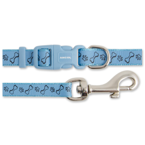 Small Bite Paw n Bone Puppy Collar & Lead Set