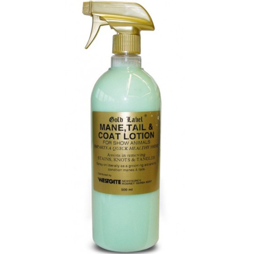Gold Label Mane, Tail & Coat Horse Spray