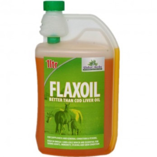 Global Herbs Flax Oil for Horses