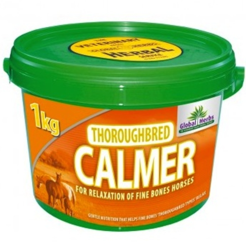 Global Herbs Thoroughbred Calmer for Horses