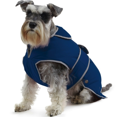 Ancol Reflective Muddy Paws Stormguard Navy Dog Coat