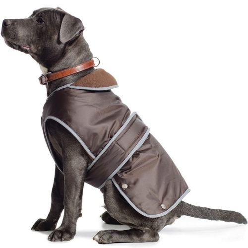 Ancol Muddy Paws Stormguard Chocolate Dog Coat