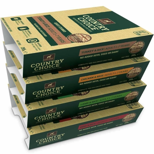 Gelert Country Choice Tray Varieties Wet Dog Food