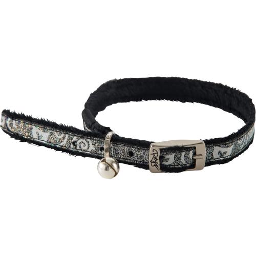 Rogz SparkleCat Black Cat Collar