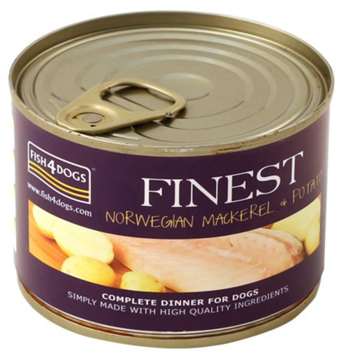 Fish4Dogs Finest Mackerel Wet Dog Food
