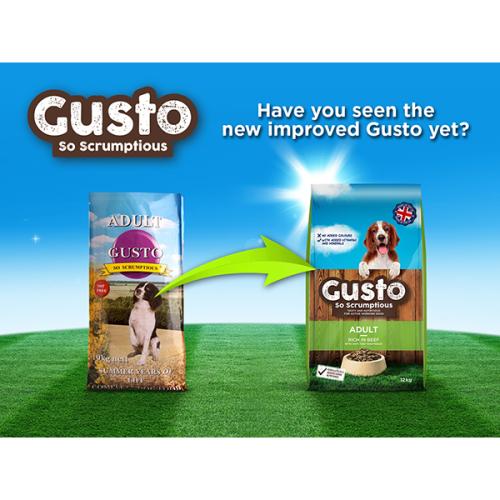 Gusto Complete Adult Dog Food