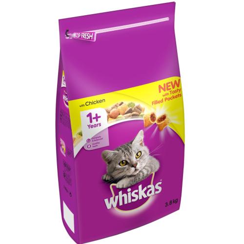 Whiskas Dry 1+ Chicken Adult Cat Food