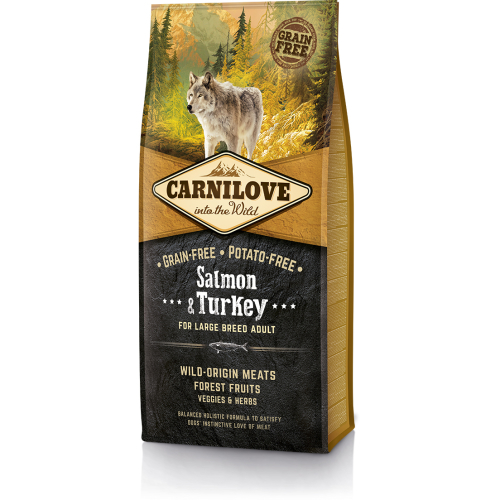 Carnilove Salmon & Turkey Large Breed Adult Dog Food