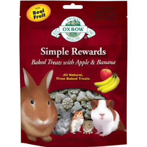 Oxbow Simple Rewards Baked Apple & Banana Treats