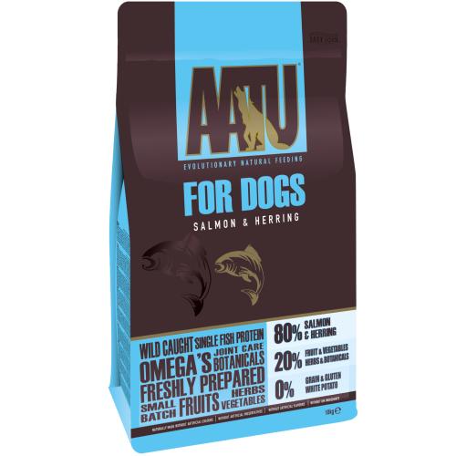 AATU 80/20 Salmon & Herring Adult Dog Food