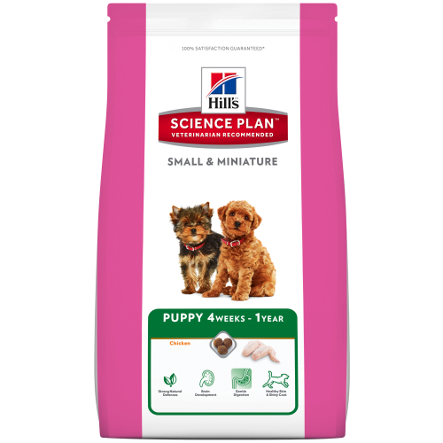 Hills Science Plan Small and Miniature Puppy Chicken & Turkey Dry Dog Food