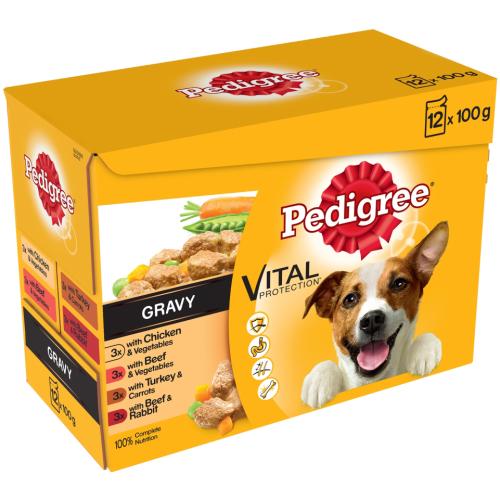 Pedigree Vital Real Meals in Gravy Adult Dog Food