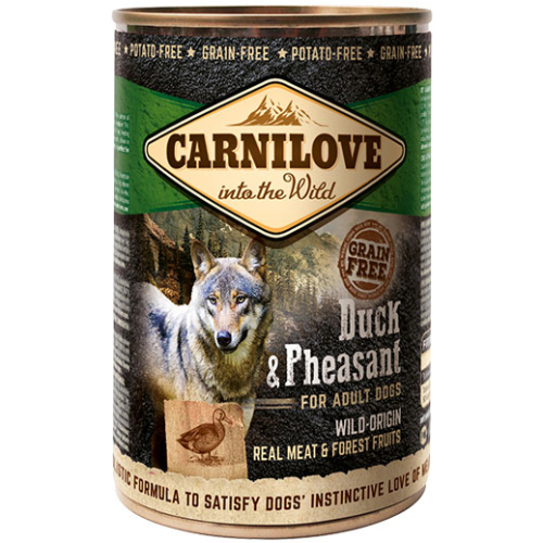 Carnilove Duck & Pheasant Adult Dog Food