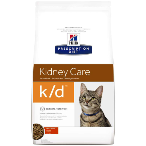 Hills Prescription Diet KD Kidney Care Chicken Dry Cat Food
