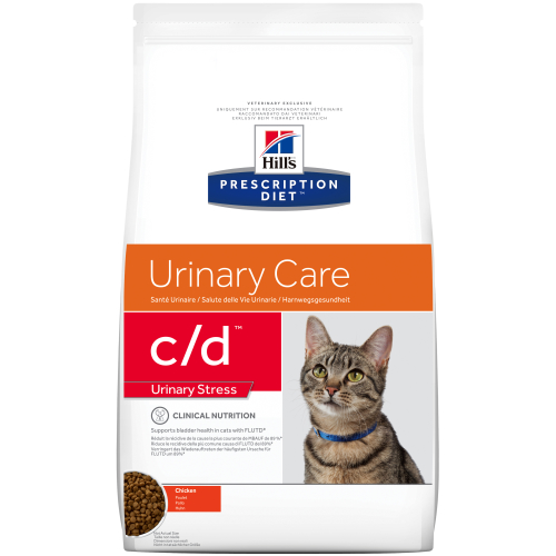 Hills Prescription Diet CD Stress Urinary Care Dry Cat Food Chicken