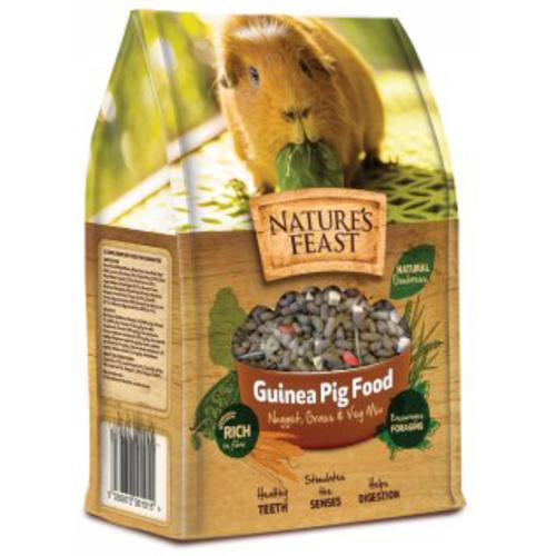 Natures Feast Nugget, Grass & Veg Mix Guinea Pig Food