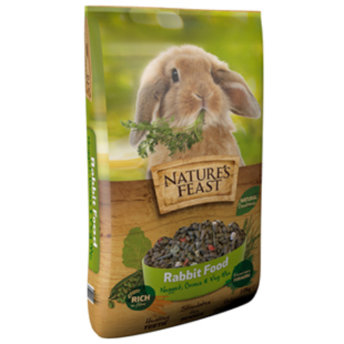 Natures Feast Nugget, Grass & Veg Mix Rabbit Food