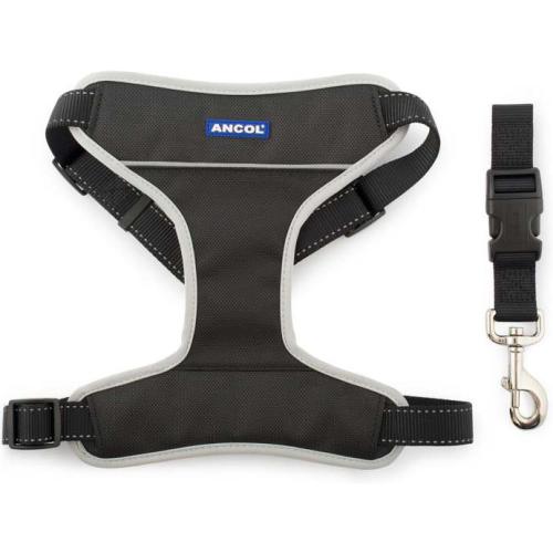 Ancol Nylon Car & Exercise Dog Harness