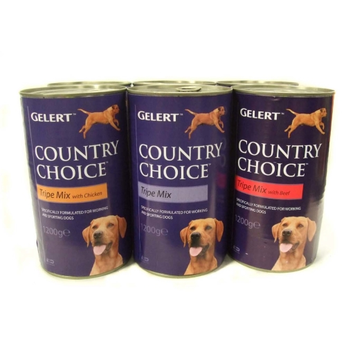 Gelert Country Choice Tripe Variety Working Adult Dog Food