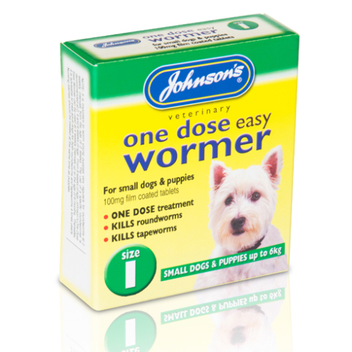Johnsons Veterinary One Dose Wormer
