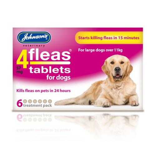 Johnsons 4 Fleas Tablets