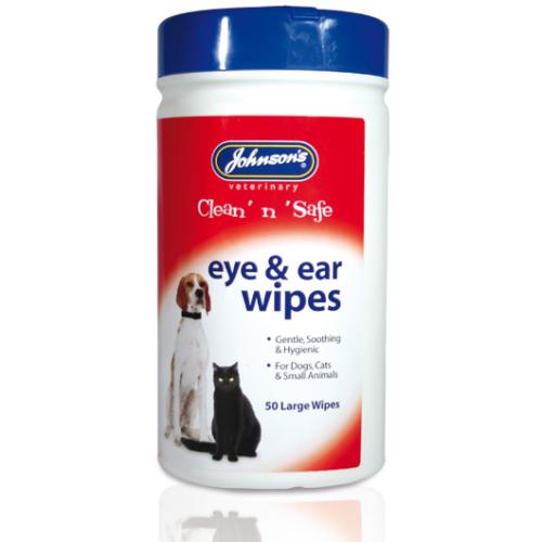 Johnsons Clean n Safe Eye & Ear Wipes