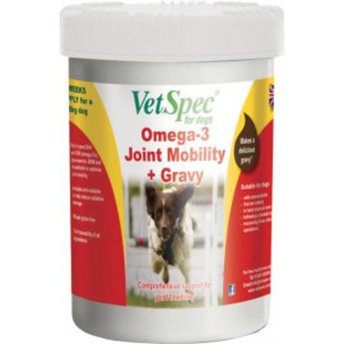 VetSpec Omega-3 Joint Mobility & Gravy Dog Supplement