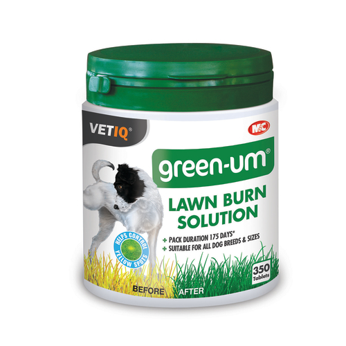 Mark & Chappell Green-UM Lawn Burn Control Dog Tablets
