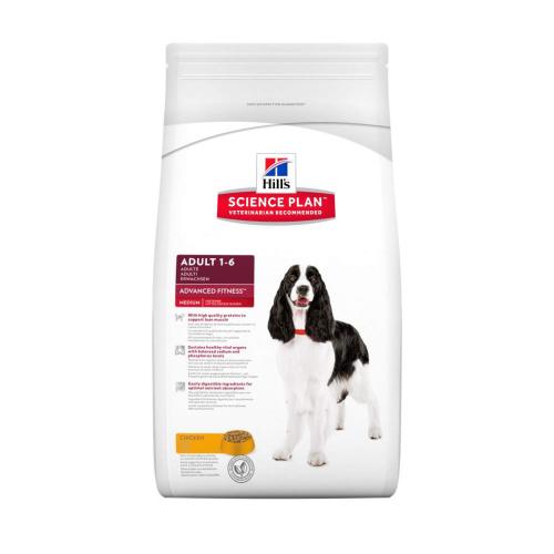 Hills Science Plan Medium Breed Adult Chicken Dry Dog Food