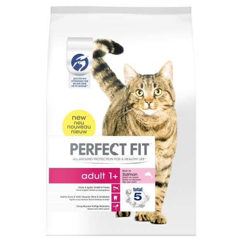 Perfect Fit Salmon Adult Cat Food