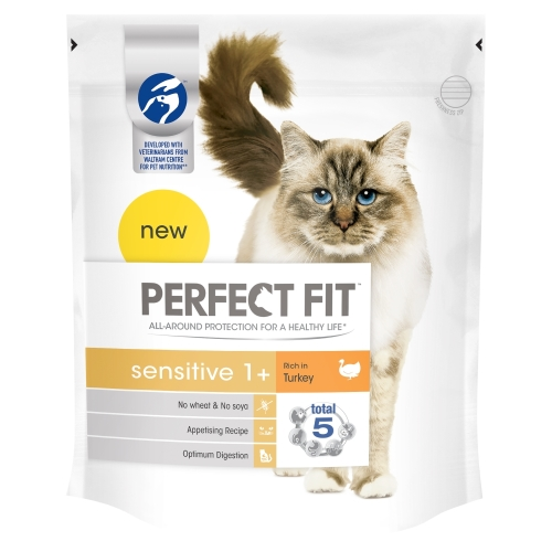 Perfect Fit Turkey Sensitive Cat Food