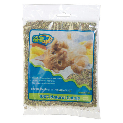 Cosmic Catnip Ziplock Bag