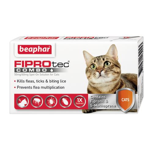 Beaphar FIPROtec Combo Flea Spot on For Cats