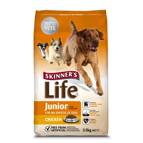 Skinners Life Junior Chicken Dog Food